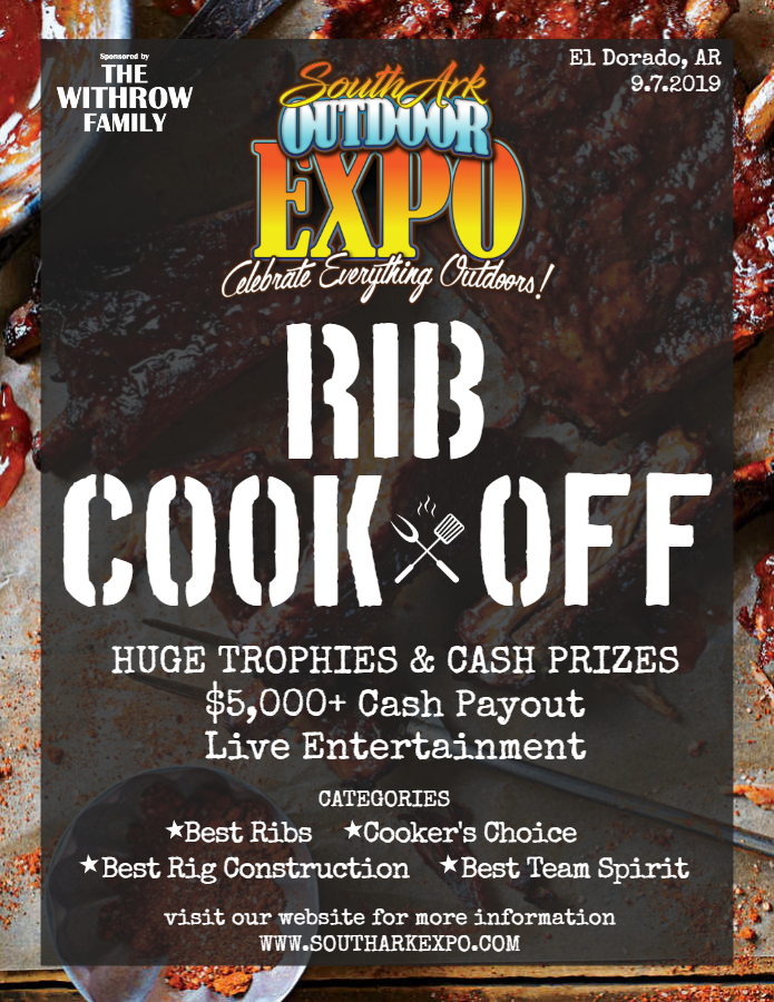 Rib Cookoff Flyer 2019